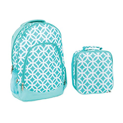 1f20decec1ee Reinforced Water Resistant School Backpack and Insulated Lunch Bag ...