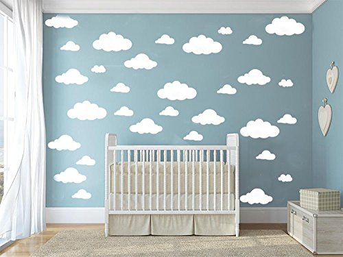 31-pcs-Mix-Size-4-10-inch-Clouds-Wall-Decal-Sticker-For-Kids-Bedroom-Decor-DIY-Home-Decor-Vinyl-Clouds-Mural-Baby-Nursery-Room-Wallpaper