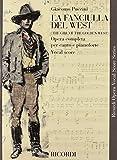 La Fanciulla del West: Vocal Score by Giacomo Puccini (Composer), Henri Elkan (Editor) (1-Nov-1986) Paperback