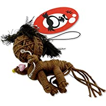 Adorable Sagittarius Voodoo Luck Zodiac Doll KeyChain