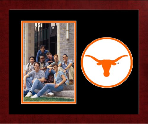Campus Images NCAA Texas Longhorns University Spirit Photo Frame (Vertical)