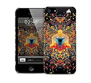 cuben triangles block colours iPhone 5 / 5S protective case