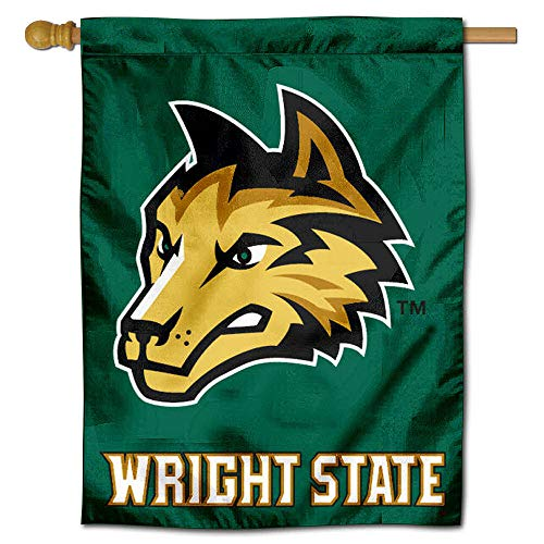 College Flags and Banners Co. Wright State University Raiders House - State Wright University