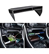 JDMCAR Center Console Organizer Compatible with Toyota RAV4 2021 2020 2019, ABS Material Insert T...