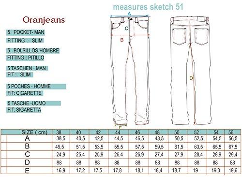 Oranjeans - Slim fit Jeans avec 5 poches