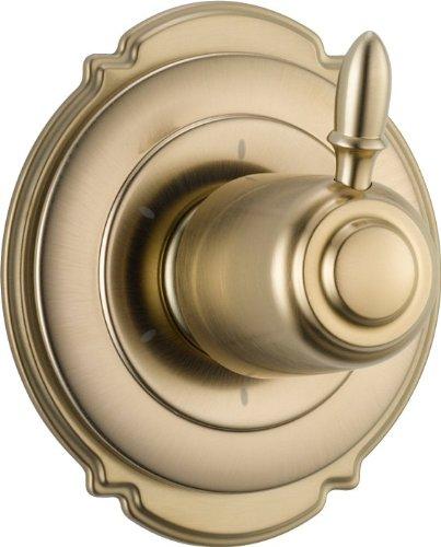 Delta Faucet T11955-CZ Victorian 6 Setting Diverter Trim, Champagne Bronze