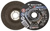 Walter 08P460 XCAVATOR Grinding Wheel - [Pack of 25] A-16-P Grit, 4-1/2 in. Surface Finishing Wheel. Abrasive Tools and Accessories