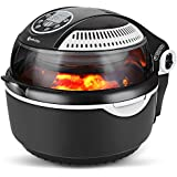 COOK JOY Multifunctional Air fryer, Oil-Less Airfryer 10 litres Health Halogen Turbo Hot Air Fryer Multi Grill Oven Temperature Control No Splatter