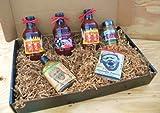 kansas city bbq gift - Oklahoma Joe's Kansas City Barbecue Sauce Deluxe Gourmet Box Set [Includes 3 Bottles of Sauces, KC Seasoning Rub, Honey Cayenne Hot Sauce, & Hot/Spicy Popcorn]