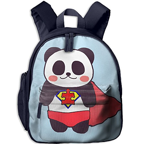 Super Panda Kid's School Bag For 3-6 Years Old Child ShoulderBackpack Navy For Boys And - Sunglasses Bill Dance