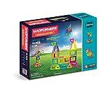 Magformers Neon 70 Pieces Rainbow neon Colors, Educational Magnetic Geometric Shapes Tiles Building STEM Toy Set Ages 3+