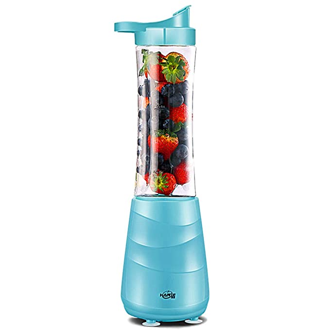 Juice Cup Portable Juicer Home Multi-function Mini Fried Fruit Juice Machine Small Mixing Machine-Blue