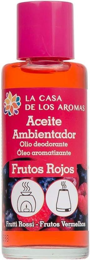 ACEITE ESENCIAL AMBIENTADOR FRUTOS ROJOS 55 ML