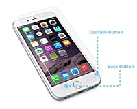 "DreamHank iPhone 6 Smart Tempered Glass Screen Protector HD tempered glass film Protective Screen Cover with a Invisible Back/Confirm Button for Apple iPhone 6 4.7"" (One Pack)"