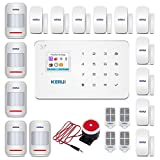 KERUI G183 Wireless 3G GSM Home Security Alarm System DIY Auto Dial Burglar Alarm Kit,APP Control by Text,not Support WiFi and/or Landline