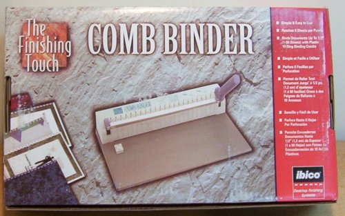 IBICO COMB BINDER Binds up to 90 Sheets!!