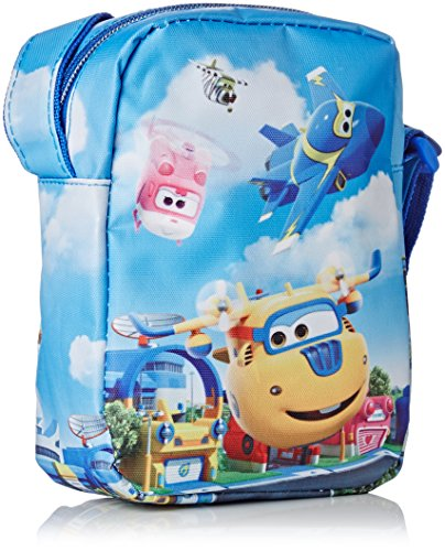 Super Wings Travel Tips Kinder-Sporttasche,  Mehrfarbig (Multicolor)