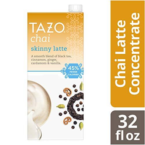Tazo Skinny Chai latte Black tea Concentrate 32 OZ