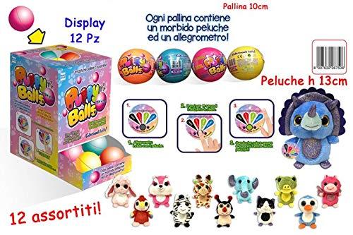 Toys Garden Puppy Balls peliche dans la Balle, Multicolore, 3.tg26750