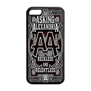 Danny Store Hard Rubber Protection Cover Case for iPhone 5C - Asking Alexandria