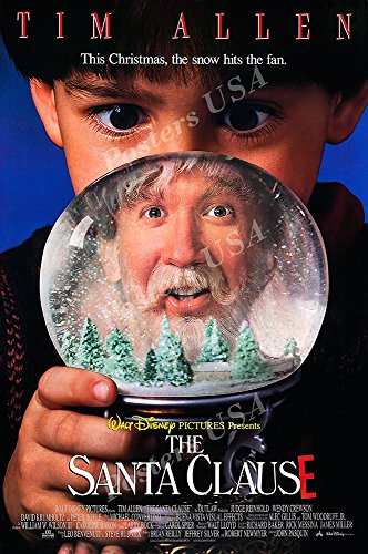 Santa Clause Art (Posters USA - Disney Classic The Santa Clause Tim Allen Movie Poster GLOSSY FINISH - FIL728 (24