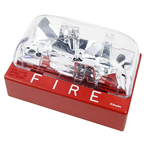 Simplex 4904-9178 V/O Wall Mount Strobe Fire Alarm (Red)