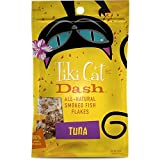 Tiki Cat Dash Smoked Fish Flakes Food Topper Tuna 2 Oz Pouch For Sale