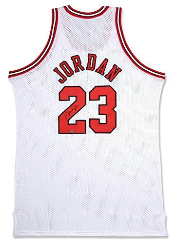 Michael Jordan Chicago Bulls Autographed Mitchell & Ness 97-98 White Jersey - Steiner Sports Certified