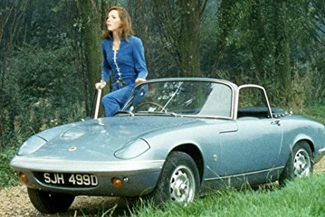 Diana Rigg in The Avengers 24x36 Poster 1966 Lotus Elan S3 ...