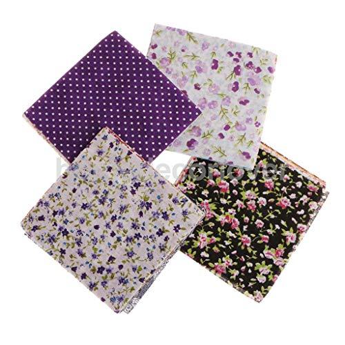 50X Cotton Sewing Fabric Cloth Bundle Square Patch Patchwork Needlework Sewing Lint Handmade DIY Craft Artcraft Scrapbooking Scrapbook