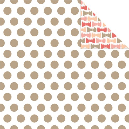 "Price comparison product image You Are My Happy Double-Sided Cardstock 12""X12""-Dots With Foil Accents"