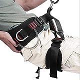 Adjustable Thickness Climbing Harness Half Body