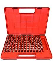 """HHIP 4101-0013 (M3-) Pin Gage Set (0.501"""" - 0.625""""), 125 Piece"""