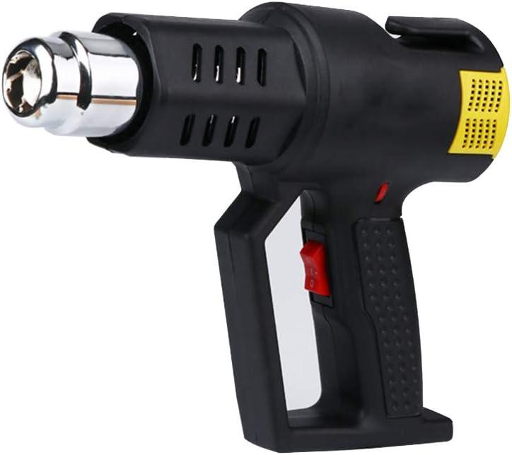 Pistola de aire caliente, 2000 W, pistola de aire caliente profesional para decapar pintura con 2 modos de temperatura de soldadura de tubos tubos de tiras termorretráctiles de PVC
