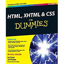 HTML, XHTML and CSS For Dummies