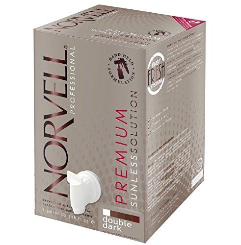 Norvell Premium Sunless Tanning Solution - Double Dark, Gallon/128 fl.oz. (Gallon Solution)