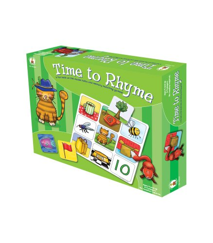 Rhyming Words Match - Carson-Dellosa Publishing Time to Rhyme