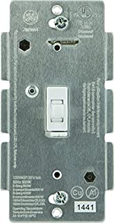 ge 12729 z wave wireless lighting control smart dimmer toggle switch white 2 buy ge ge 45613