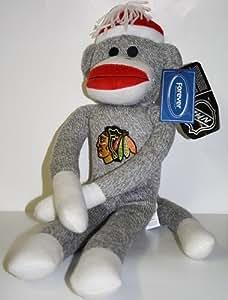 NHL Chicago Blackhawks 20'' Team Sock Monkey
