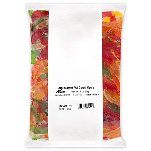 Gummi Worms, 5-pound Bag