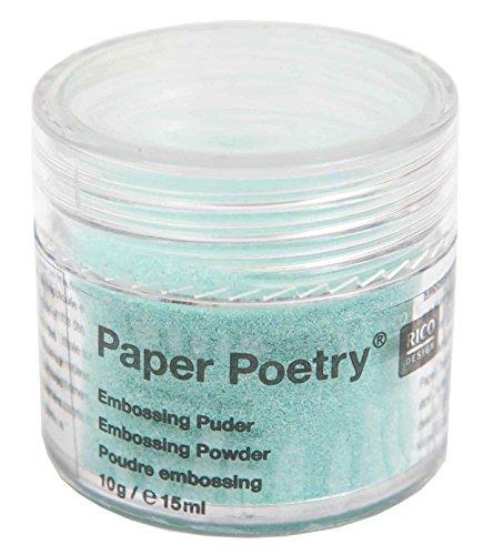 Rico Design Embossing Powder Mint Opal - Mint Embossing Powder