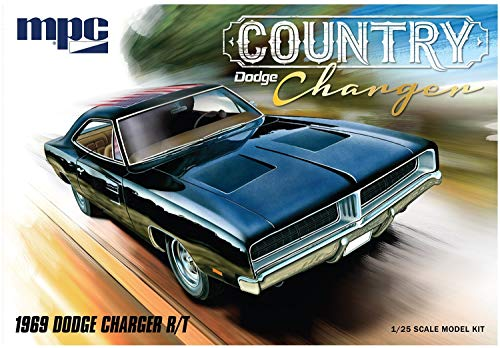 MPC MPC87812 1/25 1969 Dodge Country Charger RT Dodge Charger Model Kit