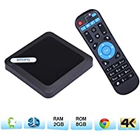 Tv BOX Android 6.0,WOSUNG 95X Amlogic S905X smart TV Box RAM 2G 8G EMMC Quad Core Mali 450 4K 3D 64 Bits Blutooth 4.1 Set Top Box