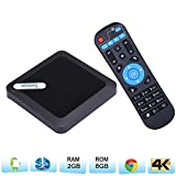TV box Android 6.0,Newest 2017 Andorid box 95X Amlogic S905X smart TV Box RAM 2G 8G EMMC Quad Core Mali 450 4K 3D 64 Bits Bluetooth 4.0 Set Top Box