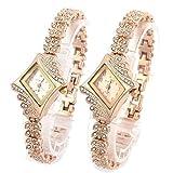 WM & MW Ladies Watches, Fashion Crystal Diamond