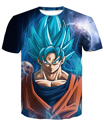 Womanloves Dragon Ball Z T Shirts Men Super Saiyan for sale  Delivered anywhere in Canada