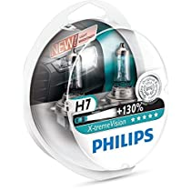 Philips bombillas para coches (55W, H7, Halógeno) [Embalaje S2]