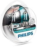 Philips 12972XV+S2 X-tremeVision Car Headlight Bulb, H7 12V, 55W Halogen, 2-Pack [Packaging type S2] Bild