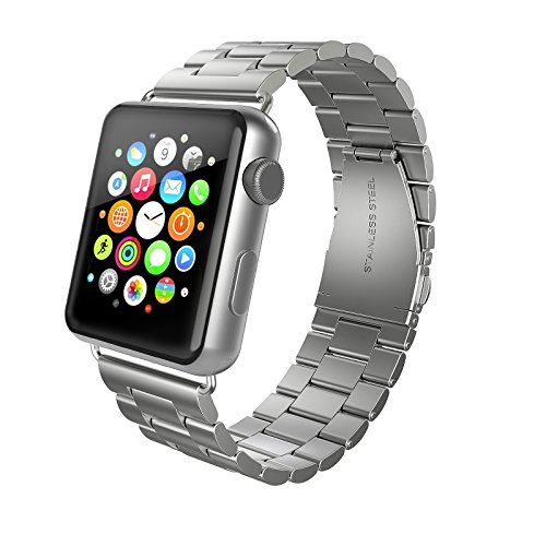 Stainless Swees Replacement iWatch Butterfly