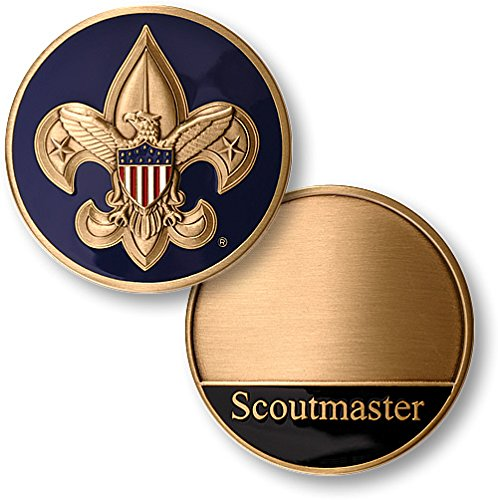 Boy Scouts Scoutmaster Award Coin